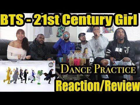 FIRST BTS 21ST CENTURY GIRL DANCE PRACTICE HALLOWEEN VER REACTION/REVIEW