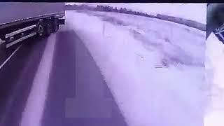 Авария с пассажирским автобусом под Черняховском
