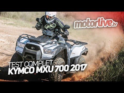 2016 Kymco MXU 700i in Hutchinson, Minnesota - Video 1