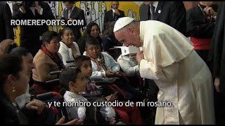 """Visita del Papa Francisco al Hospital pediátrico """"Federico Gómez"""""""