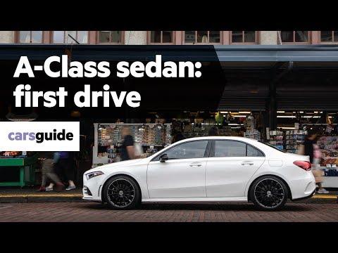 Mercedes_benz A Class Sedan Седан класса C - тест-драйв 3