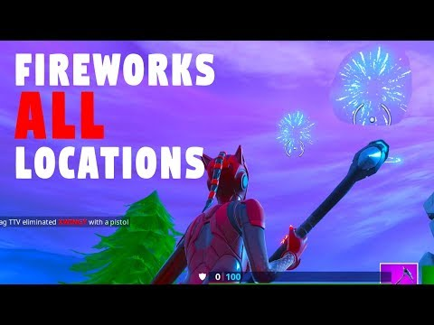 3 Fireworks Launch Location Fortnite Week 4 Challenge Launch