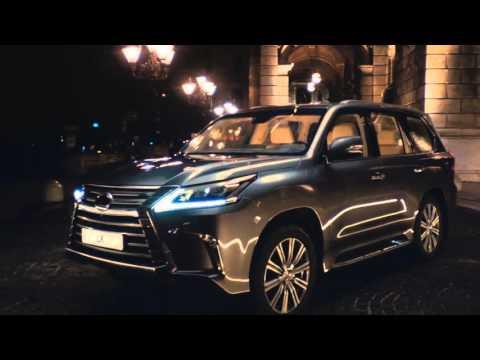 Lexus  Lx Внедорожник класса J - рекламное видео 6