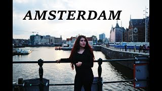 AMSTERDAM | HOLLAND | KENDİNİ YAKAN ADAM GÖSTERİ | VLOG