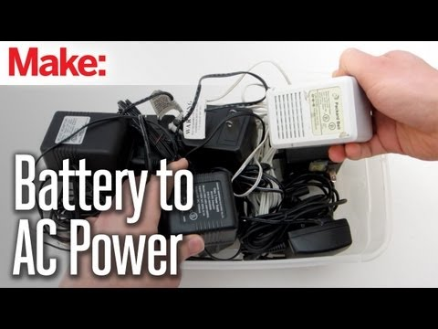 DIY Hacks & How To's: Convert A Battery-Powered Device To AC Power