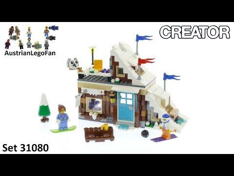 Vidéo LEGO Creator 31080 : Le chalet de montagne