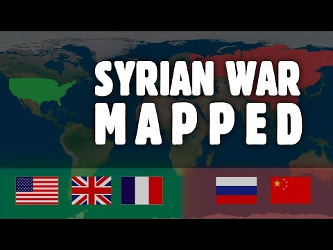 Understanding the Syrian War using Maps