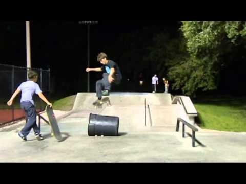 Night Skating At Largo Skatepark
