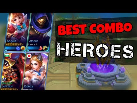 Best Duo Combo Heroes To Play With Your Friends and Team | Mobile Legends (видео)
