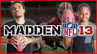 Madden 13 Trent vs Juice - CRAZY FRENCH FRY WAGER!!