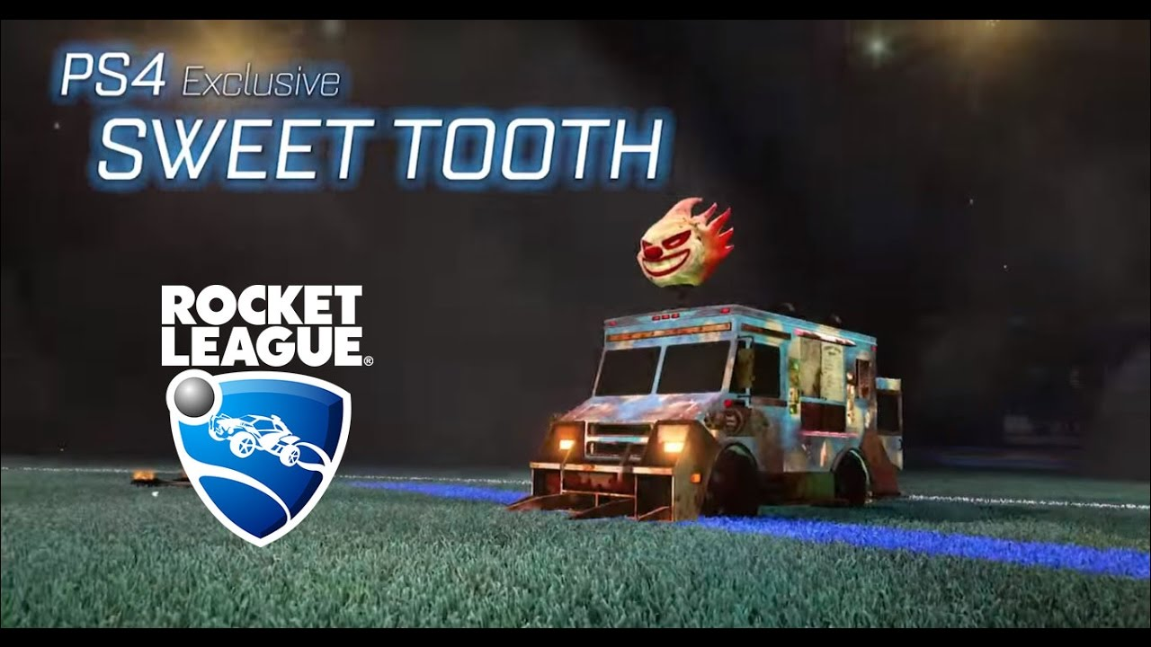Rocket League Out July 7th, Sweet Tooth Joins Roster