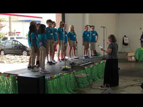 Video: T.J. Singers at 2019 Back to School Expo