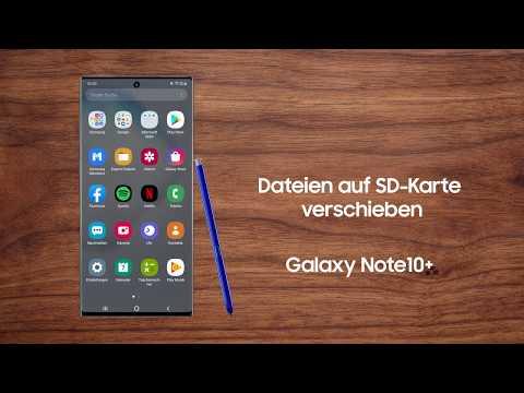 Galaxy Smartphone: Dateien auf SD-Karte verschieben