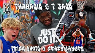 1 on 1 with Tristan Jass - YouTube sensation and ESPN feature   Trick shots, crazy dunks and more!