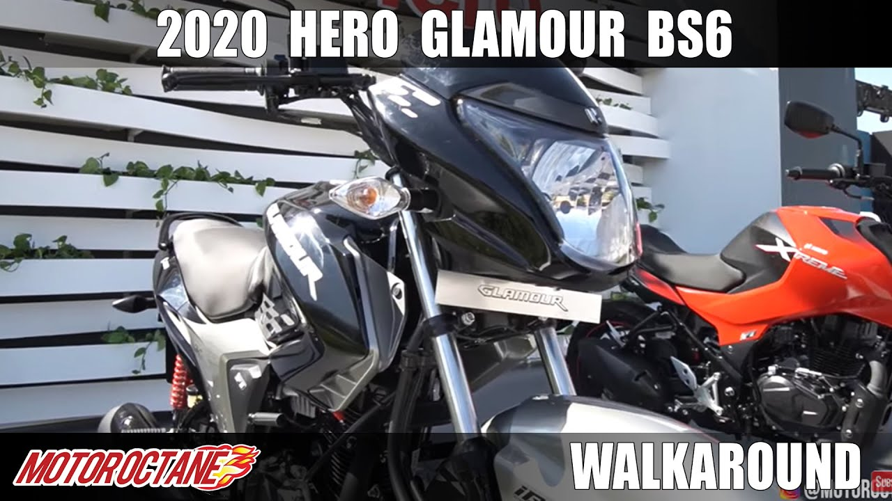 Motoroctane Youtube Video - 2020 Hero Glamour BS6 - WOW! | Hindi | MotorOctane