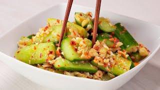 Битые огурцы с орешками кешью. Китайская кухня. Рецепт от Всегда Вкусно!