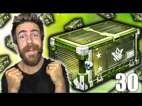 """30 NEW """"VINDICATOR"""" ROCKET LEAGUE CRATE OPENING! - The Final Crate"""