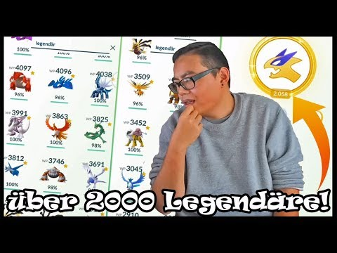 Über 2000 Legendäre Raids - alle meine LEGENDÄREN! Max/100er/Shiny/Glücks!