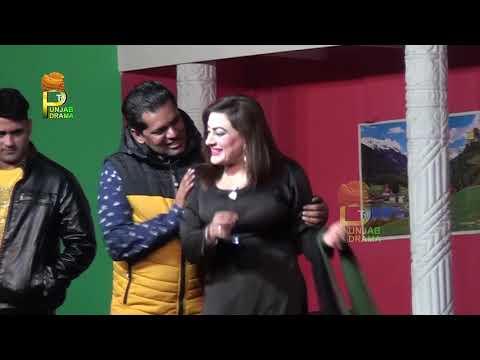 Imran Shoki and Asma Malik Stage Drama Sohni Gadi Te Sohne Log Comedy Clip 2019