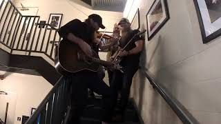 Stairwell Session: Happy Day at the Grand Ole Opry