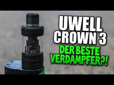 👑 UWELL CROWN 3 👑 | DER BESTE VERDAMPFER FÜR DIE E-ZIGARETTE?! #VapeDay