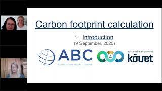 Webinar 1: introducción al cálculo de huella de carbono con KÖVET