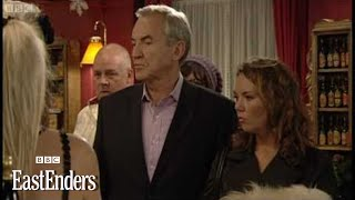Archie and Janine takeover the Vic part 1 - EastEnders - BBC