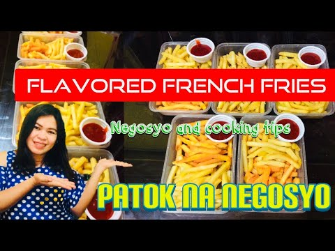 , title : 'NEGOSYO TIPS | FRENCH FRIES WITH A TWIST  | Viv Quinto