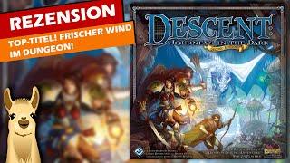 Top-Titel: Descent: Zweite Edition / Anleitung & Rezension / SpieLama
