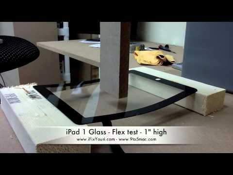 Watch iPad 2 Glass Bend To Incredibly Extreme Angles