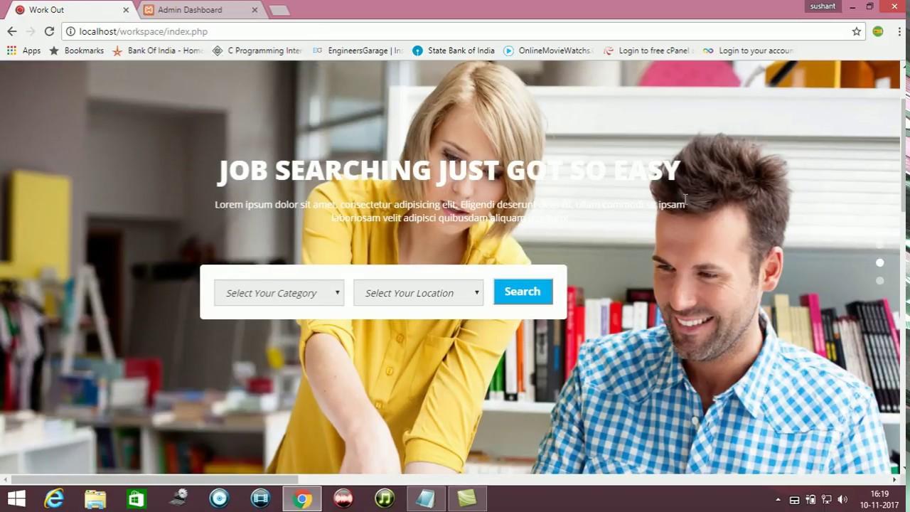 Code source Portail d emploi en ligne