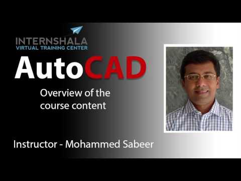 LEARN AUTOCAD SYSTEMATICALLY | AUTOCAD COURSE ...