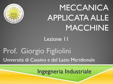 Meccanica applicata alle macchine Lezione 11
