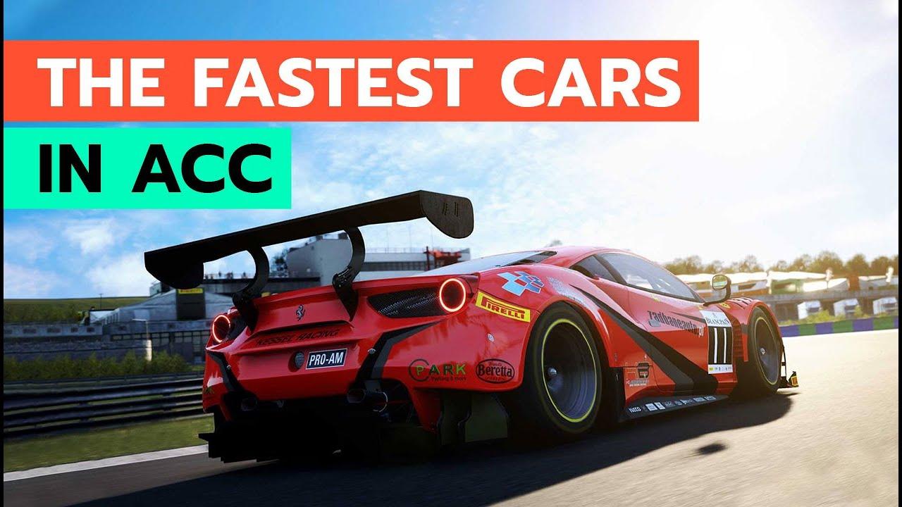 Ovetake_gg: What's the fastest car in AC Competizione?