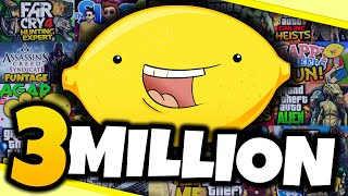 3 MILLION SUBSCRIBERS! - Best of TheGamingLemon Montage #3 - (Funny Moments)