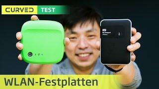Seagate Wireless und WD MyPassport Wireless im Test | deutsch