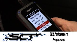 In the Garage™ with Parts Pro™: SCT BDX Performance Programmer