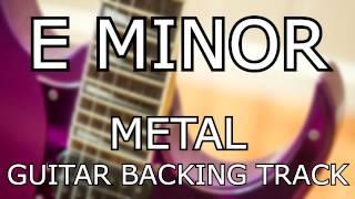 E Minor Metal Guitar Backing Track