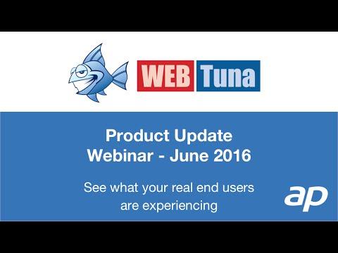 WebTuna Webinar