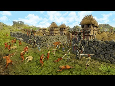 Dawn of Man | Ep. 9 | INVASION - Huge Raid Destroys City | Dawn of Man City Building Tycoon Gameplay