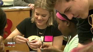 Students get robotics kit