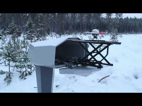Mailbox-Housed Drone Delivers Adorably Secured Perimeters