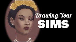 Drawing Your Sims – Penelope Pizzazz