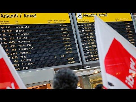 Γερμανία: Η απεργία ακύρωσε εκατοντάδες πτήσεις