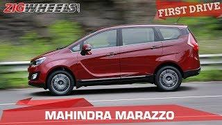 Mahindra Marazzo Review | Can it better the Toyota Innova? | ZigWheels.com