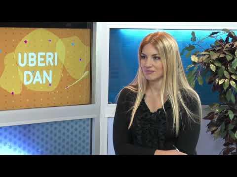 "Uberi dan 26.10.2018. Jovana Ristić, PR ""Portalibris-a"" i Ivan Branković, pisac"