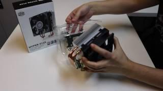 CoolerMaster Hyper 212x Unboxing