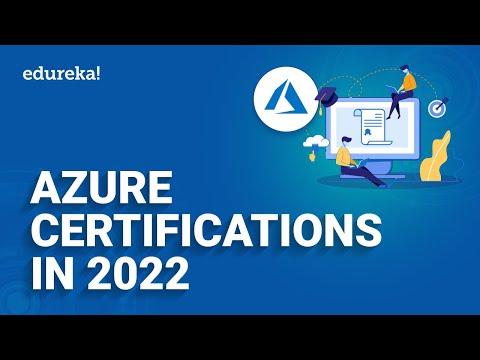 Azure Certifications In 2021 | Azure Certification Path 2021 | Microsoft Azure Training | Edureka