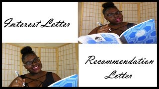 NPHC Sorority Interest and Recommendation Letters