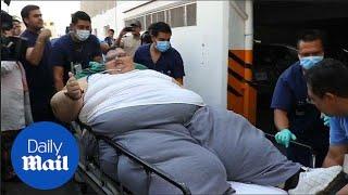 World's heaviest man at 595 kilos to undergo life-saving surgery - Daily Mail